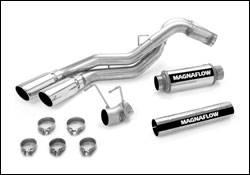 Exhaust - MagnaFlow - MagnaFlow - Magnaflow Diesel Particulate Filter Series 4 Inch Dual Exhaust System - 16974