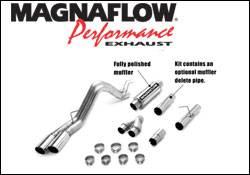 Exhaust - MagnaFlow - MagnaFlow - Magnaflow Performance Series 4 Inch Dual Exhaust System - 16987