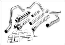Exhaust - MagnaFlow - MagnaFlow - Magnaflow PRO Series 4 Inch Dual Exhaust System - 17923