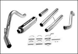 Exhaust - MagnaFlow - MagnaFlow - Magnaflow PRO Series 4 Inch Exhaust System - 17954