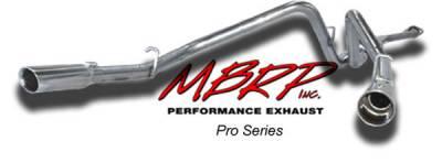 Exhaust - MBRP Exhaust - MBRP - MBRP Pro Series Dual Split Rear Exhaust System S5016304