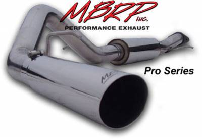 Exhaust - MBRP Exhaust - MBRP - MBRP Pro Series Single Side Exhaust System S5026304