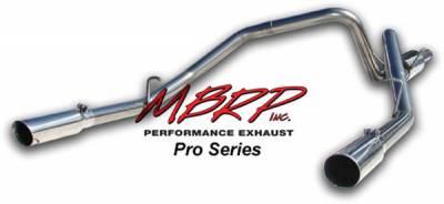 Exhaust - MBRP Exhaust - MBRP - MBRP Pro Series Dual Split Rear Exhaust System S5106304