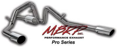 Exhaust - MBRP Exhaust - MBRP - MBRP Pro Series Dual Split Rear Exhaust System S5202304