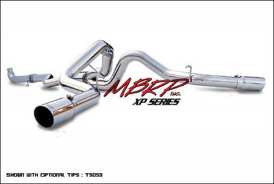Exhaust - MBRP Exhaust - MBRP - MBRP XP Series Cool Duals Exhaust System S6002409