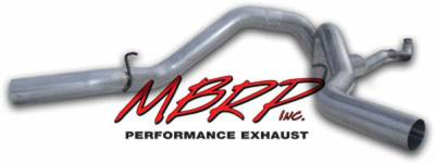 MBRP - MBRP Installer Series Down Pipe Back Exhaust System S6006AL