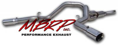 Exhaust - MBRP Exhaust - MBRP - MBRP Pro Series Cool Duals Exhaust System S6014304