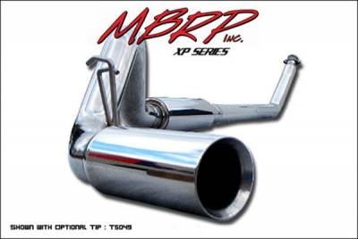 Exhaust - MBRP Exhaust - MBRP - MBRP XP Series Turbo Back Exhaust System S6100409
