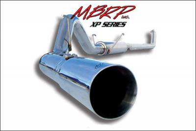 Exhaust - MBRP Exhaust - MBRP - MBRP XP Series Turbo Back Exhaust System S6104409