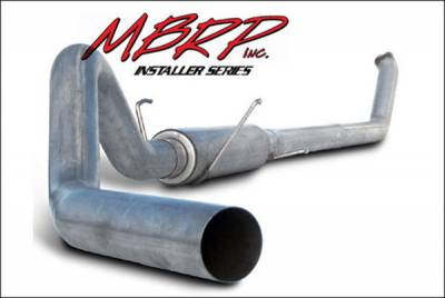 MBRP - MBRP Installer Series Turbo Back Exhaust System S6104AL