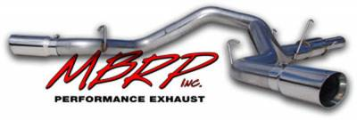 Exhaust - MBRP Exhaust - MBRP - MBRP Pro Series Cool Duals Exhaust System S6110304