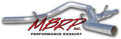 MBRP - MBRP Installer Series Cool Duals Exhaust System S6110AL