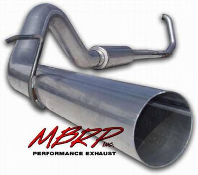 Exhaust - MBRP Exhaust - MBRP - MBRP Installer Series Turbo Back Exhaust System S6200AL