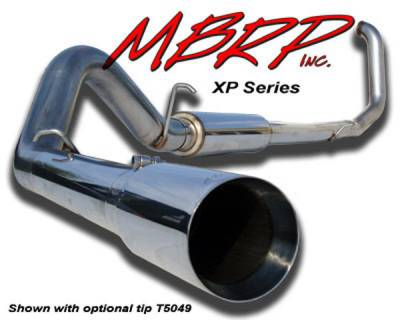Exhaust - MBRP Exhaust - MBRP - MBRP XP Series Turbo Back Exhaust System S6204409