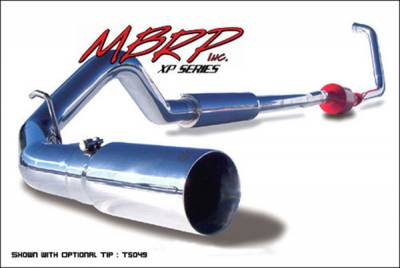 Exhaust - MBRP Exhaust - MBRP - MBRP XP Series Turbo Back Exhaust System S6206409