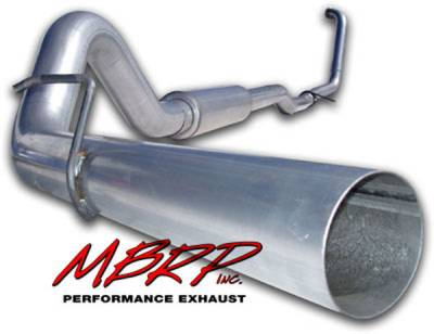 Exhaust - MBRP Exhaust - MBRP - MBRP Installer Series Turbo Back Exhaust System S6206AL