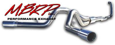 Exhaust - MBRP Exhaust - MBRP - MBRP Pro Series Turbo Back Exhaust System S6210304