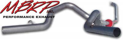 MBRP - MBRP Installer Series Turbo Back Cool Duals Exhaust System S6210AL