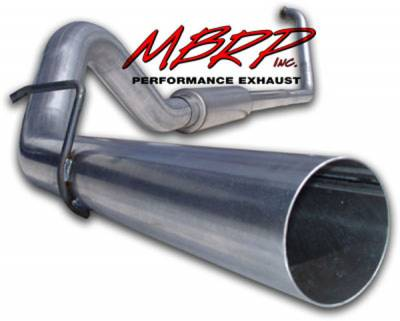 Exhaust - MBRP Exhaust - MBRP - MBRP Installer Series Turbo Back Exhaust System S6212AL