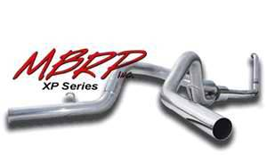 MBRP - MBRP Installer Series Turbo Back Cool Duals Exhaust System S6214AL