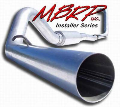 Exhaust - MBRP Exhaust - MBRP - MBRP Installer Series Turbo Back Exhaust System S6216AL
