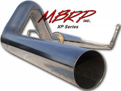 Exhaust - MBRP Exhaust - MBRP - MBRP XP Series Turbo Back Exhaust System S6218409