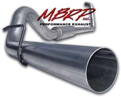Exhaust - MBRP Exhaust - MBRP - MBRP Installer Series Turbo Back Exhaust System S6218AL