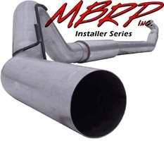 Exhaust - MBRP Exhaust - MBRP - MBRP Installer Series Turbo Back Exhaust System S6224AL
