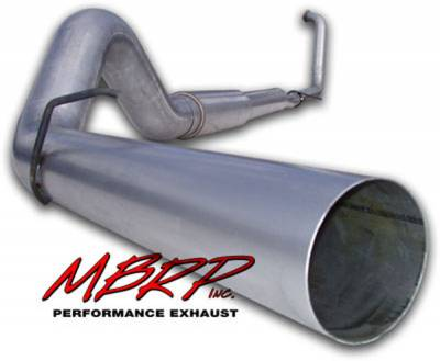 Exhaust - MBRP Exhaust - MBRP - MBRP Installer Series Turbo Back Exhaust System S6234AL