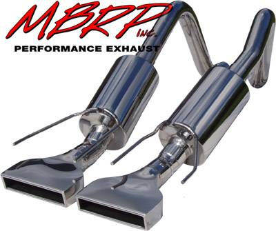 Exhaust - MBRP Exhaust - MBRP - MBRP Pro Series American Muscle Car Exhaust System S7002304