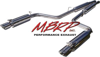 Exhaust - MBRP Exhaust - MBRP - MBRP Pro Series American Muscle Car Exhaust System S7100304