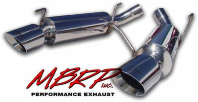 Exhaust - MBRP Exhaust - MBRP - MBRP Pro Series American Muscle Car Exhaust System S7200304