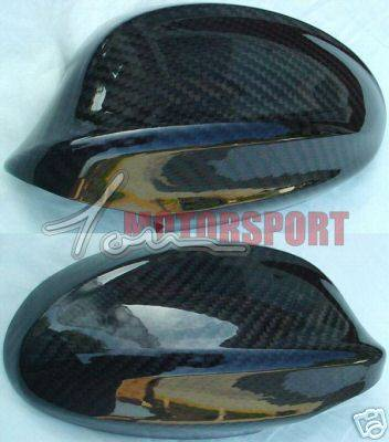 3 Series 4Dr - Mirrors - motorsport - E90 Carbon Fiber Mirror Covers