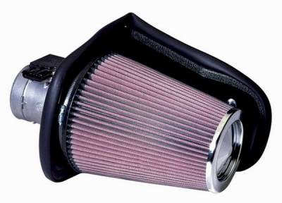 K&N. - Ford Mustang K&N Engineering Fuel Injection Performance Air Intake Kit - 92006