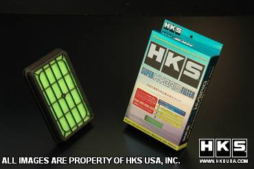 Air Intakes - OEM - HKS - Honda Fit HKS Super Hybrid Filter - 70017-AH008