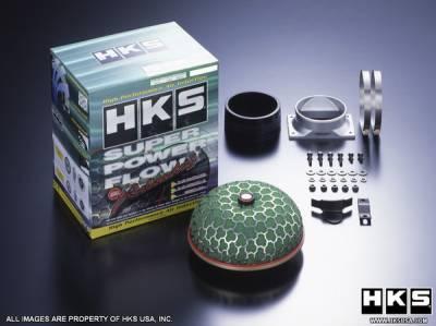 Air Intakes - OEM - HKS - Subaru WRX HKS Super Mega Flow Reloaded Air Intake Kit - 70019-BF008