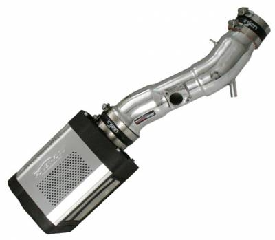 Air Intakes - OEM - Injen - Toyota Tacoma Injen Power-Flow Series Air Intake System - Wrinkle Black - PF2056WB