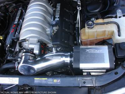 Air Intakes - OEM - Injen - Dodge Magnum Injen Power-Flow Series Air Intake System - Polished - PF5060P