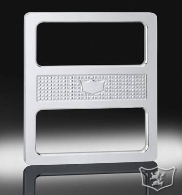 Car Interior - Interior Accessories - Defenderworx - Hummer H2 Defenderworx Center Console Plate Smooth - Chrome - H2PPC05106