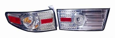 Headlights & Tail Lights - Led Tail Lights - DEPO PERFORMANCE - HD ACCORD HYBRID 05 RL LED CHROME