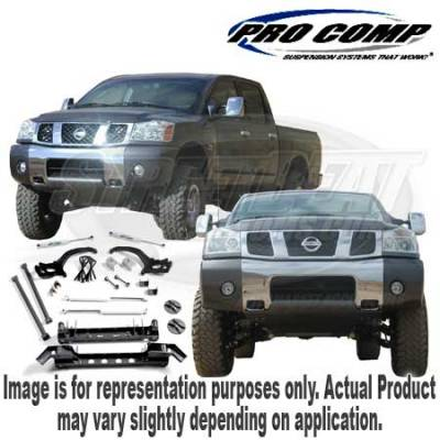 Suspension - Lift Kits - Explorer Pro-Comp - 6 Inch Lift Kit with Drive Shaft & ES Series Shocks - K5072