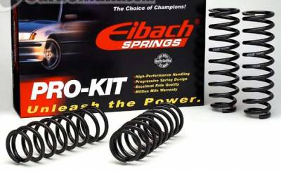 Suspension - Lowering Springs - Eibach - 8Pro-Kit Lowerinsg Spring 509.140