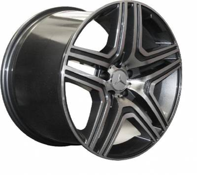 Wheels - Mercedes 4 Wheel Packages - Euro - 18 Inch Type 525 - 4 Wheel Set