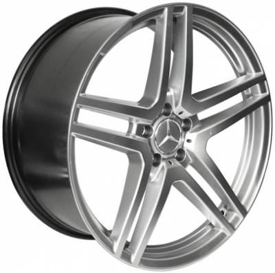 Wheels - Mercedes 4 Wheel Packages - EuroT - 20 Inch Vspec 5 - 4 Wheel Set