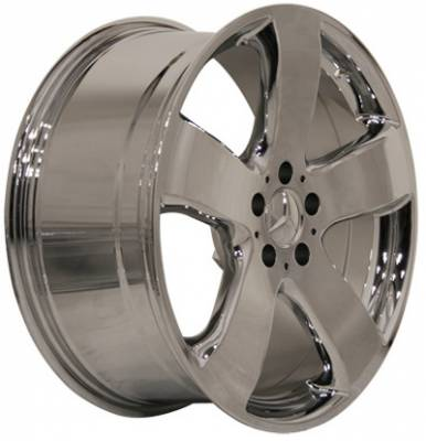 Wheels - Mercedes 4 Wheel Packages - EuroT - 17 Inch Chrome AMG Style - 4 Wheel Set