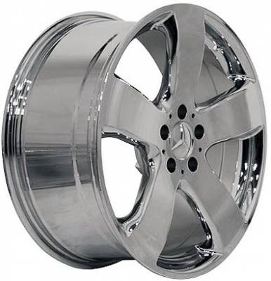 Wheels - Mercedes 4 Wheel Packages - EuroT - 16 Star Chrome - 4 Wheel Set