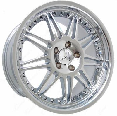Wheels - Mercedes 4 Wheel Packages - EuroT - 18 inch M Chrome - 4 wheel set