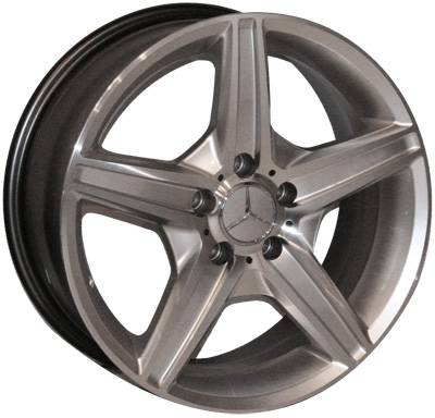 Wheels - Mercedes 4 Wheel Packages - EuroT - 17 Inch N1 Style - 4 Wheel Set