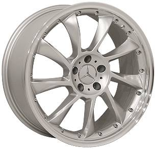 Wheels - Mercedes 4 Wheel Packages - Euro - 19 Inch Falcons - 4 Wheel Set