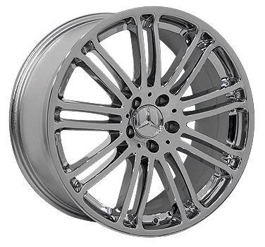 Wheels - Mercedes 4 Wheel Packages - EuroT - 19 Inch 16S - 4 Wheel Set